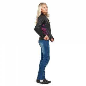 Pantaloni Moto Femei Jeans W-TEC Lustipa [5]