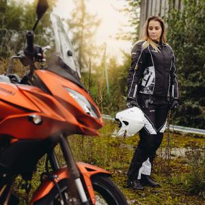 Pantaloni Moto Femei W-TEC Kaajla NF-2683 [5]