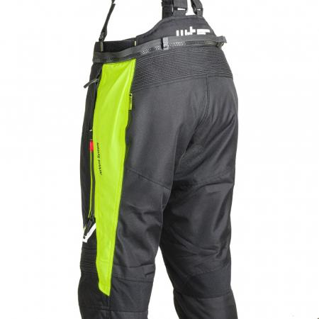 Pantaloni Moto Femei W-Tec Spiritual Lady Negru/Galben Florescent [5]