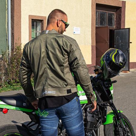 Pantaloni Moto Jeans Barbati W-TEC Grandus [2]