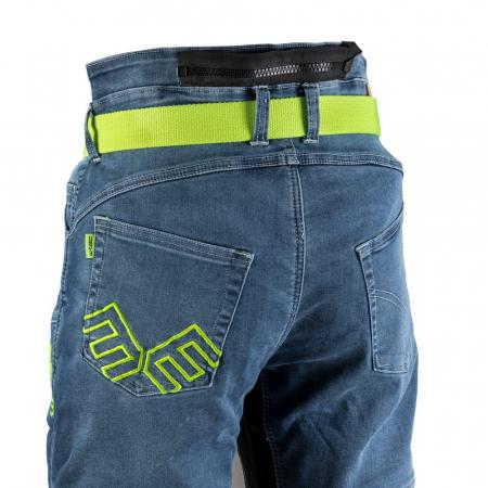 Pantaloni Moto Jeans Barbati W-TEC Grandus [5]