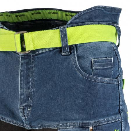Pantaloni Moto Jeans Barbati W-TEC Grandus [6]