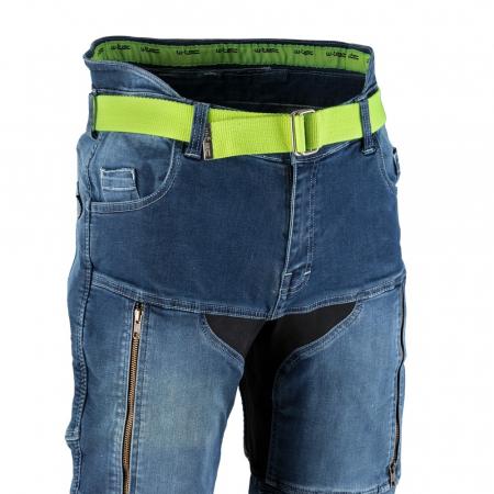 Pantaloni Moto Jeans Barbati W-TEC Grandus [4]