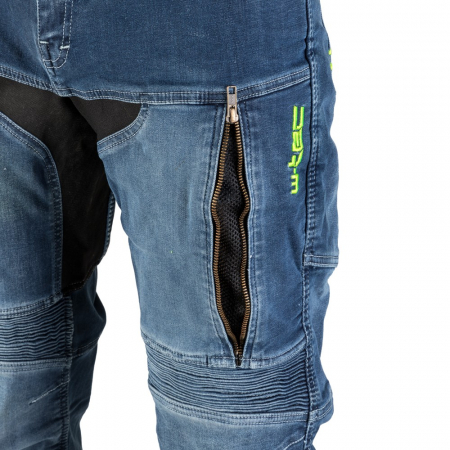 Pantaloni Moto Jeans Barbati W-TEC Grandus [7]