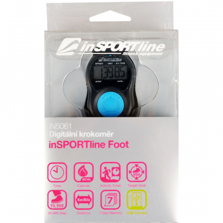 Pedometru inSPORTline Foot1