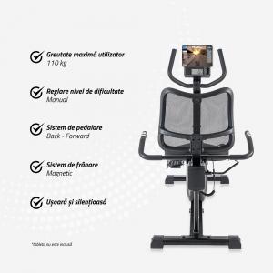Bicicleta fitness orizontala R500 Techfit [4]
