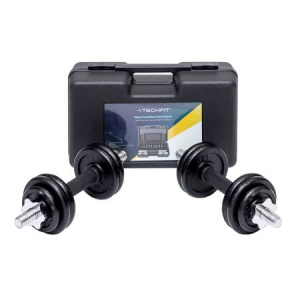 Set gantere reglabile 15 kg Techfit [3]