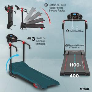 Banda de alergare motorizata TECHFIT MT1008