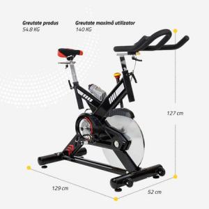 Bicicleta indoor cycling SBK400 Techfit10