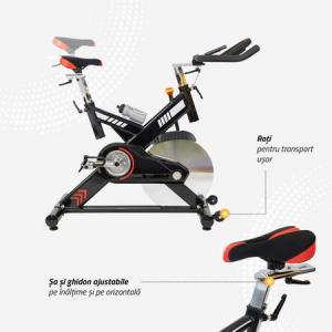Bicicleta indoor cycling SBK400 Techfit4