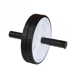 Roata de abdomene AB wheel, 19 cm, TheWay Fitness0