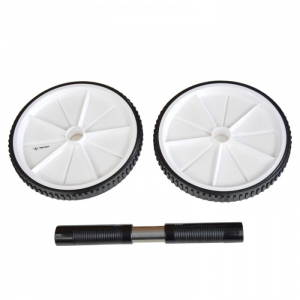 Roata de abdomene AB wheel, 19 cm, TheWay Fitness1