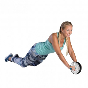 Roata de abdomene AB wheel, 19 cm, TheWay Fitness2