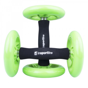 Roata exercitii inSPORTline Ab Roller Double1