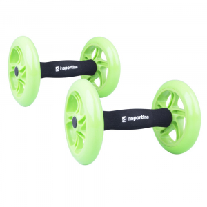 Roata exercitii inSPORTline Ab Roller Double5