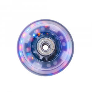 Roata iluminata role PU 70x24 mm rulment ABEC 5 [1]