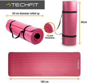 Saltea fitness Techfit, densitate 1.5 cm9