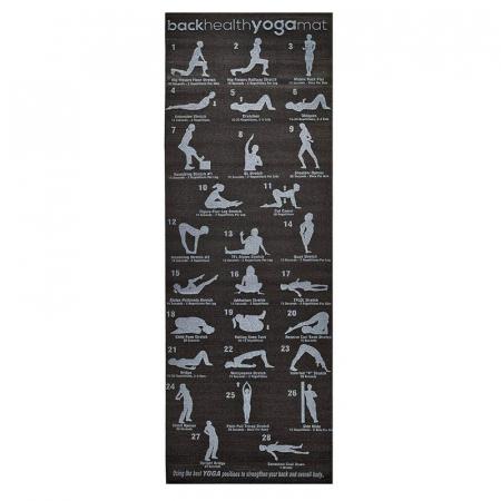 Saltea yoga F27B Yogi Plan, 173x61x0,6 cm [0]