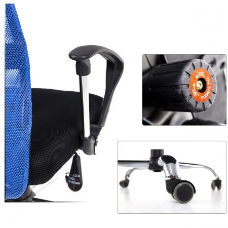 Scaun birou ergonomic Sportmann 2501-negru [4]