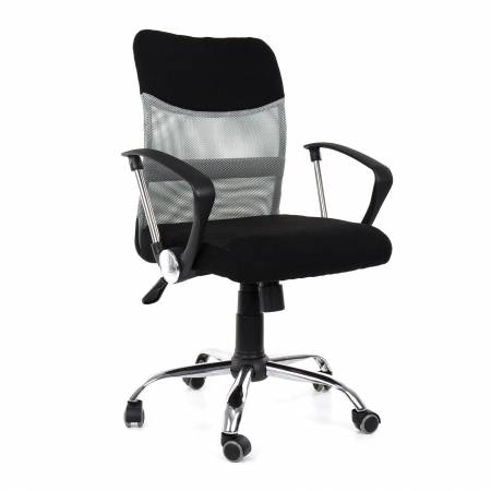 Scaun birou ergonomic Sportmann 2502-Negru [0]