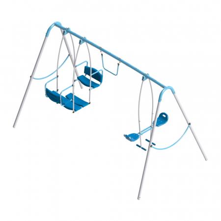 Set leagan de gradina triplu pentru copii [0]