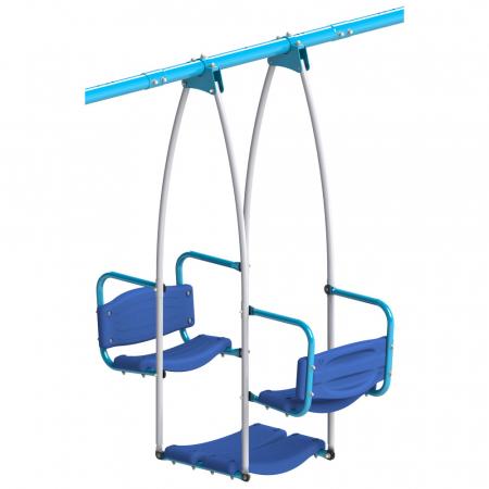 Set leagan de gradina triplu pentru copii [3]