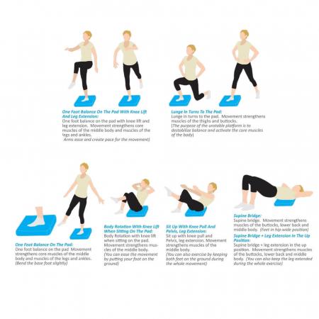 Suport Yoga Echilibru inSPORTline Brik [0]