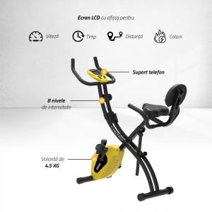 Bicicleta fitness pliabila XB300 Techfit1
