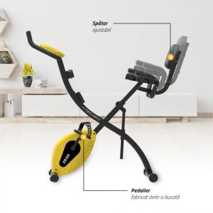 Bicicleta fitness pliabila XB300 Techfit4