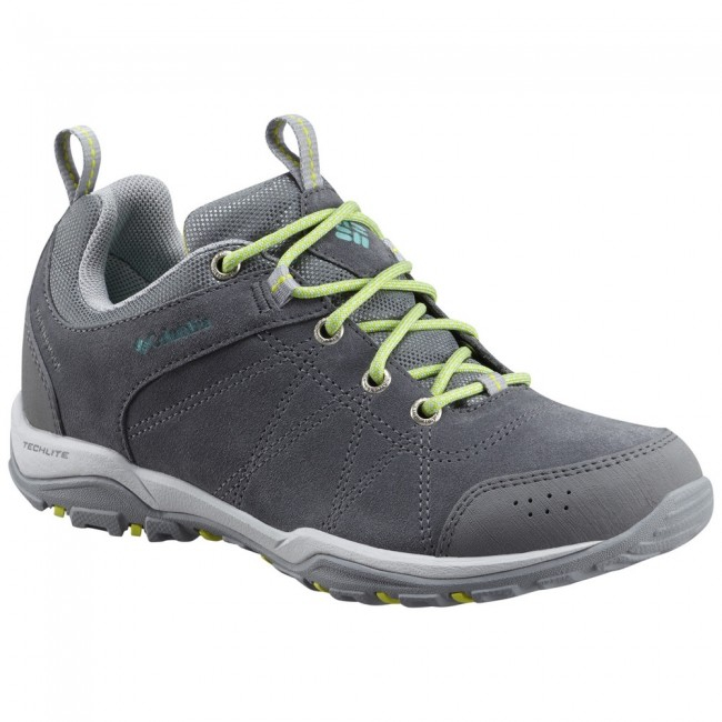 Bocanci Columbia Fire Venture Low Waterproof - Gri -Dama 0