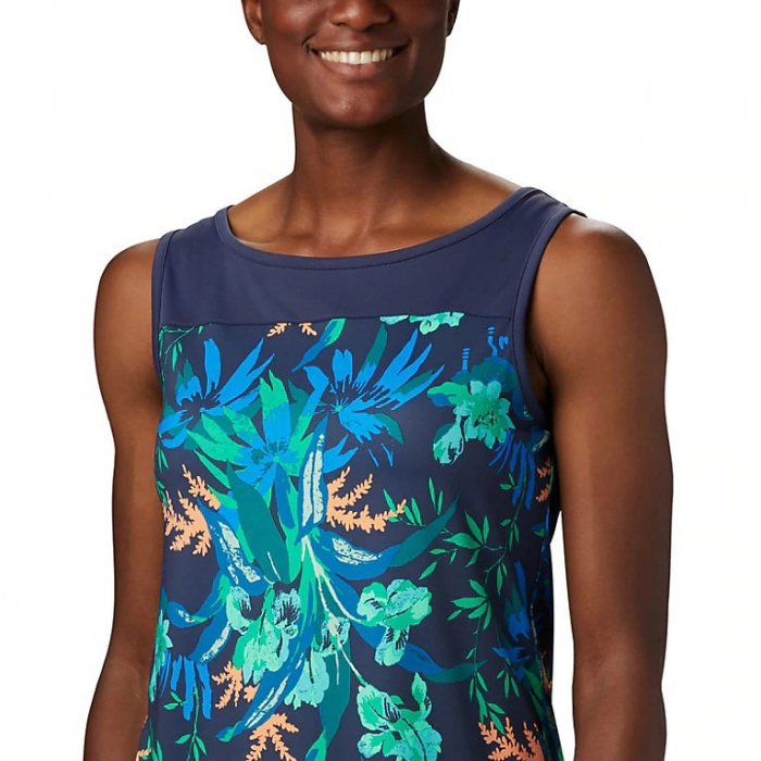 Columbia Tricou Chill River Tank 467-N-Nocturnal 0