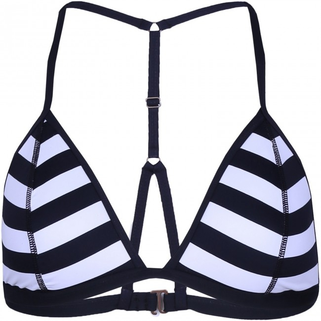 Top de baie Fundango Orilla Top White Stripe 0