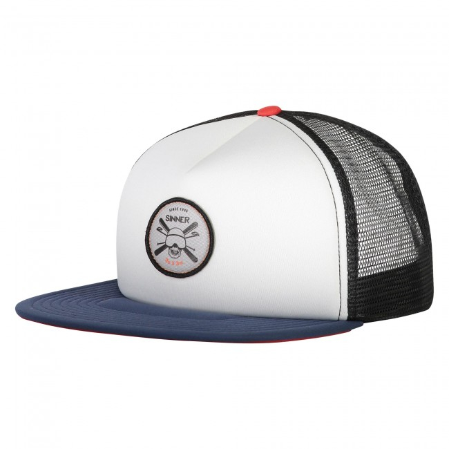Sapca Sinner CAP SKULL BADGE WHITE UNI 0