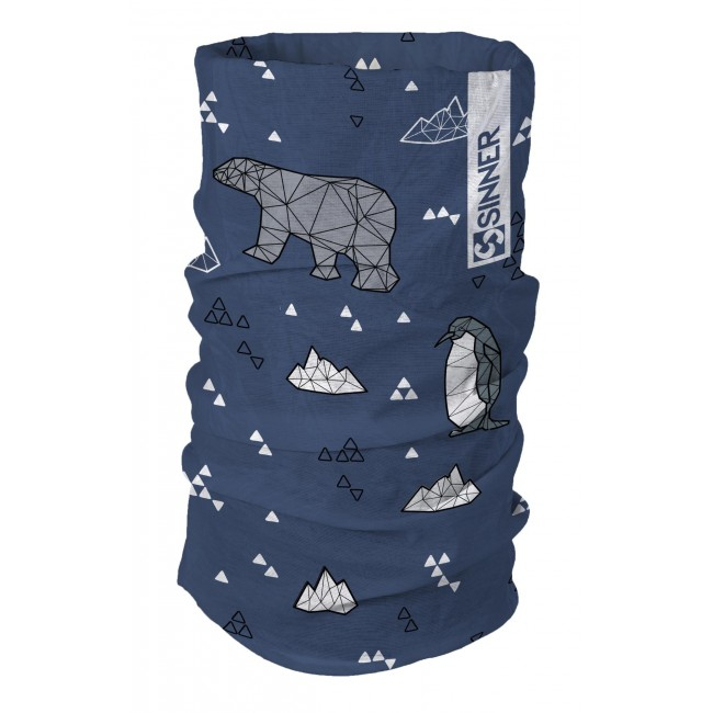 Sinner Bandana  Winter  Wonderland Blue 0