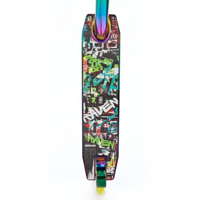 Trotinetă Raven Evolution Master Neo Chrome/Lime 110 mm 5