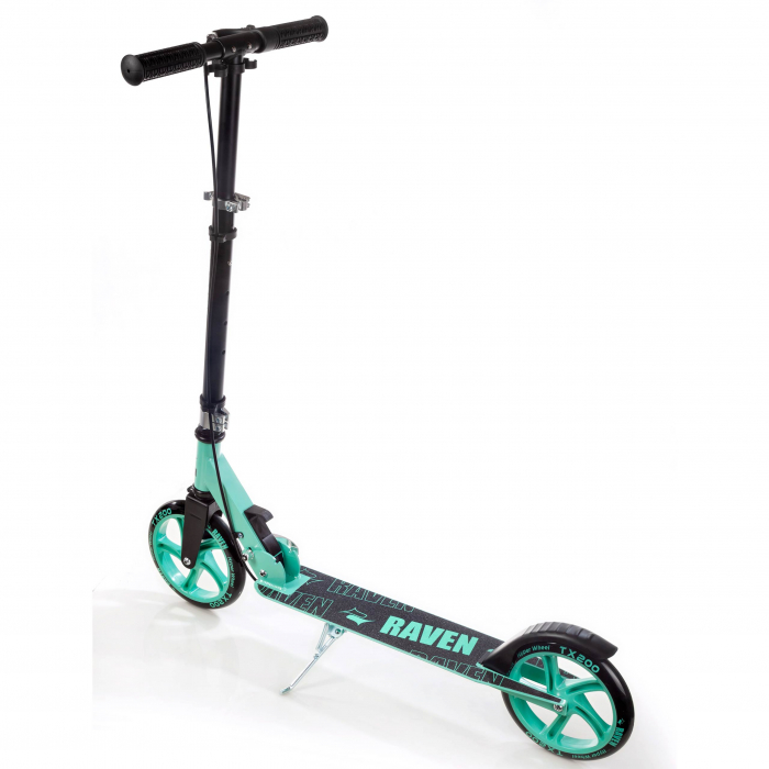 Trotinetă Raven Straight (handbrake) Black/Mint 200 mm 3