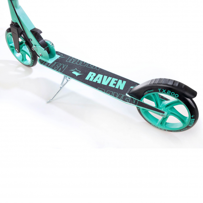 Trotinetă Raven Straight (handbrake) Black/Mint 200 mm 7
