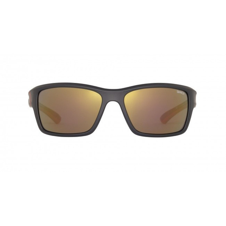Ochelari de soare Sinner Cayo Black/Red-PC Smoke Red Mirror1
