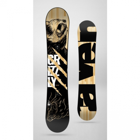 Placa Snowboard Raven Grizzly1