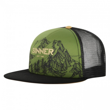 Sapca Sinner CAP MOUNTAINS MOSS GREEN UNI0