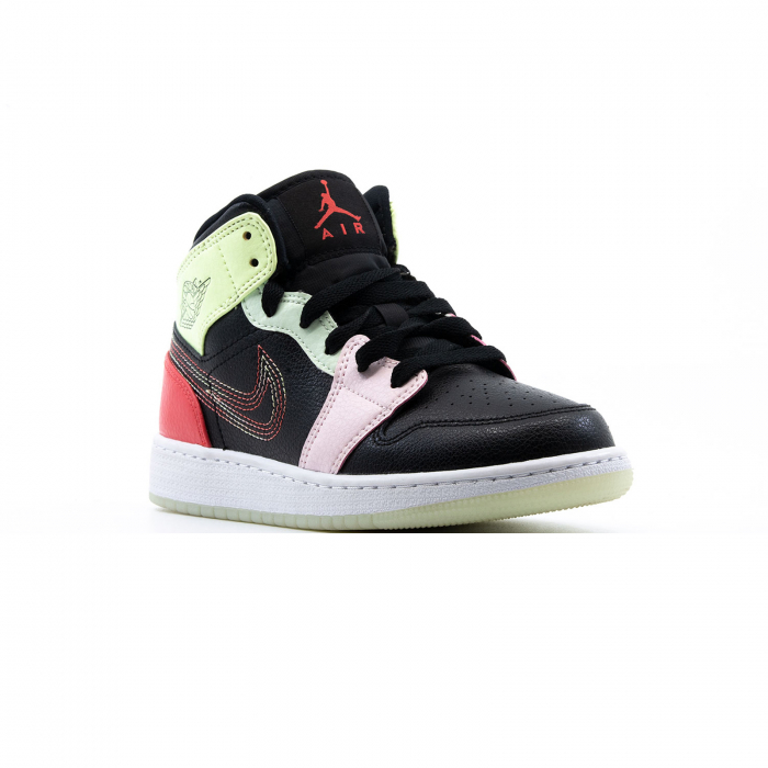 Air Jordan 1 Mid Se (gs) 2