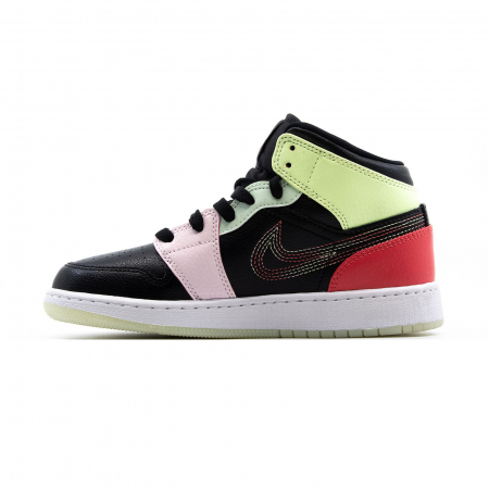 Air Jordan 1 Mid Se (gs)1