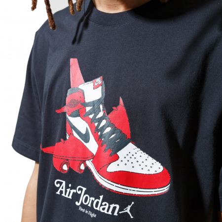 M J Brand Graphic Ss Crew [1]