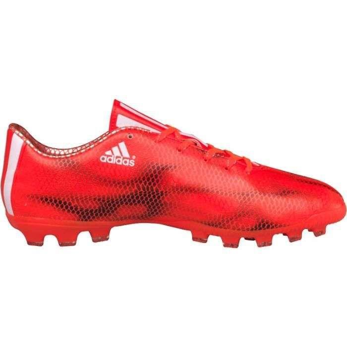 adidas Copii f10 ag Ghete Fotbal Teren Sintetic Rosu/Negru 0