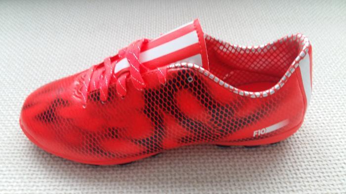 adidas Copii f10 ag Ghete Fotbal Teren Sintetic Rosu/Negru 2