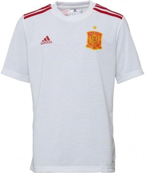 Adidas Baieti Tricou Climalite Spania 0