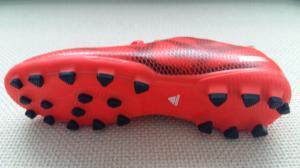 adidas Copii f10 ag Ghete Fotbal Teren Sintetic Rosu/Negru1