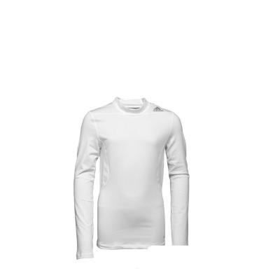 adidas Baieti Base TechFit Climawarm Maneca Lunga Alb0
