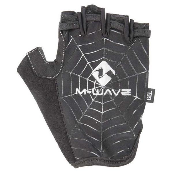 "Manusi fara degete XL M-WAVE cu gel ""SPIDER WEB"" 0"