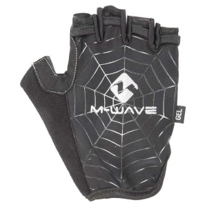 "Manusi fara degete XL M-WAVE cu gel ""SPIDER WEB""0"